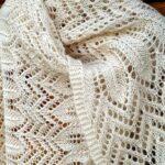 Палантин спицами схемы вязания