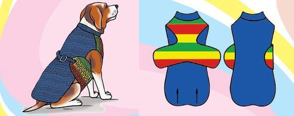 Комбинезон конвертик для собаки