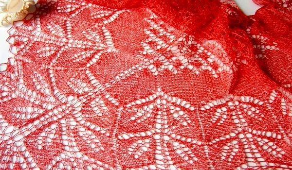 Ажурное вязание для начинающих