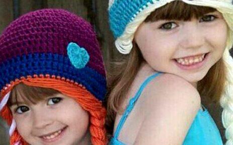 Вязание шапочки для девочки