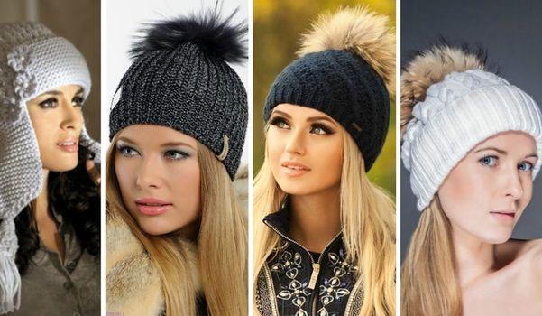 Вязание шапок со схемами
