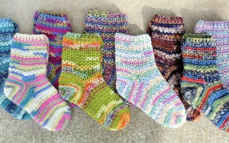 Вязание детских носков