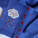 Вязание детских кофточек