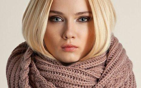 Снуд с косами для женщин