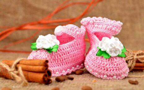 Вязание детских пинеток
